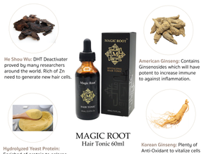 Q & A Magic Root Hair tonic