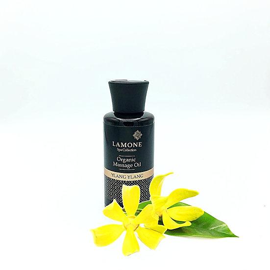 Lamone Organic Body Massage Oil 150ml: Ylang Ylang