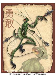 Kythrick the Mantis Warrior