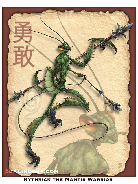 Kythrick the Mantis Warrior