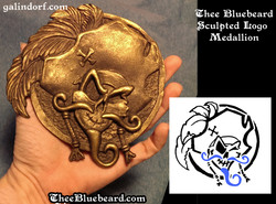 Thee Bluebeard Bronze Logo