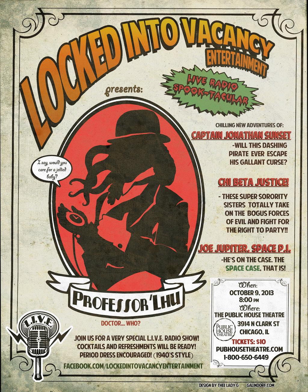 L.I.V.E. Show Poster