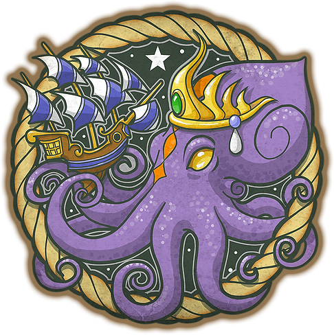 Octopus Royalty Logo TM
