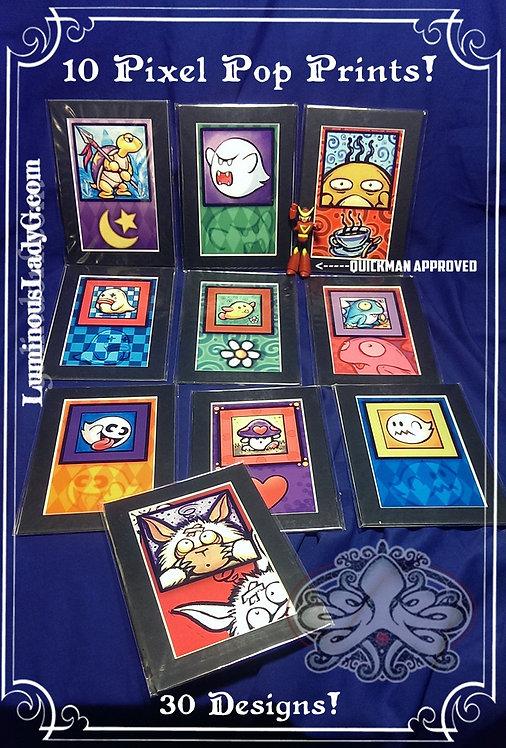Pixel Pops 4x6 10-Pack