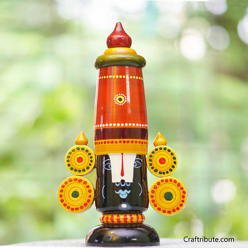 Lacquer finished Wooden Balaji