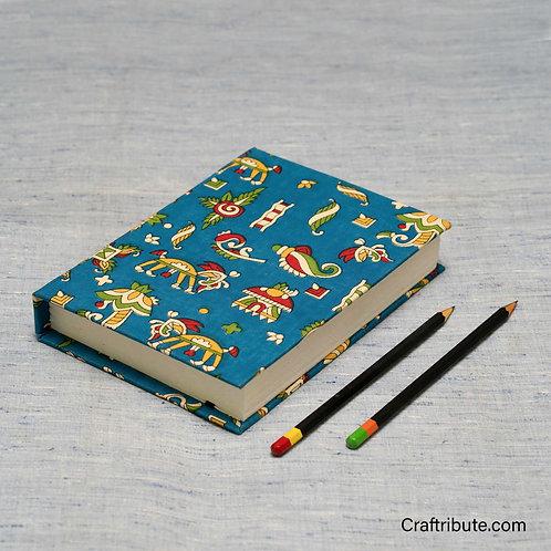 Handmade Paper Notebook - Blue