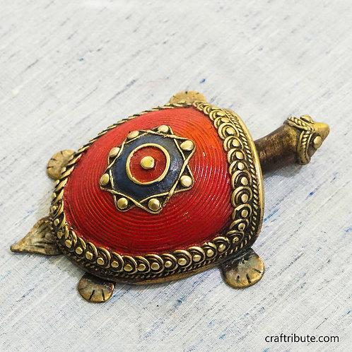 Dhokra Feng shui Tortoise