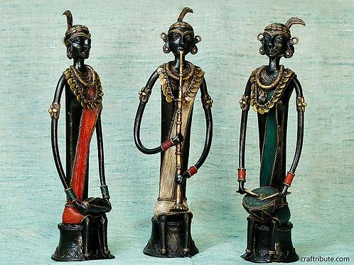 Dhokra Musicians Trio