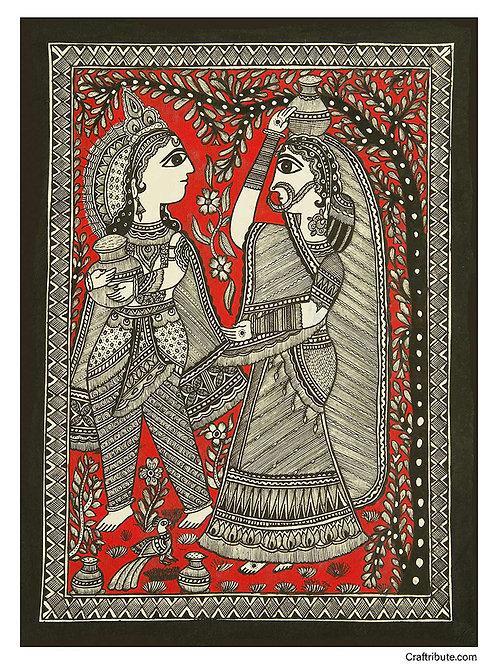 Madhubani Painting - Macchanchor