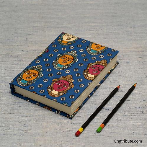 Handmade Paper Notebook - Dancer Face