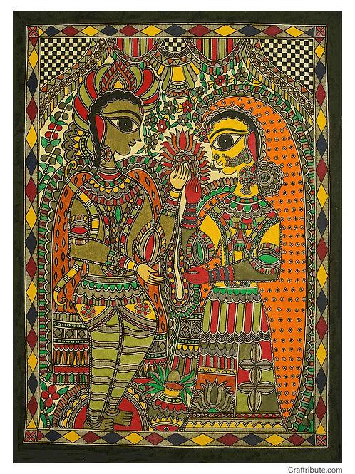 Madhubani - Shreeram -Janaki Vivah