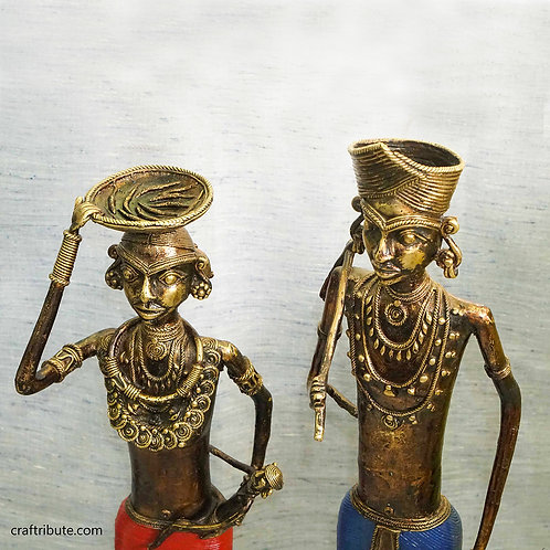 Dhokra Tribal Couple - Big