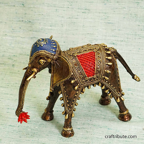 Dhokra Decorative Elephant