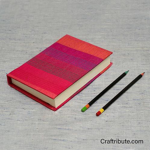 Handmade Paper Notebook - Pink