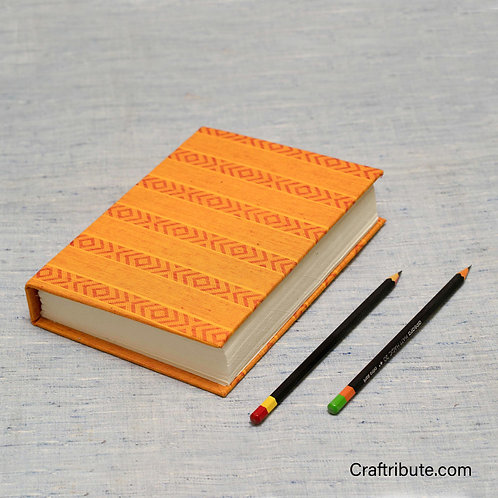 Handmade Paper Notebook - Yellow
