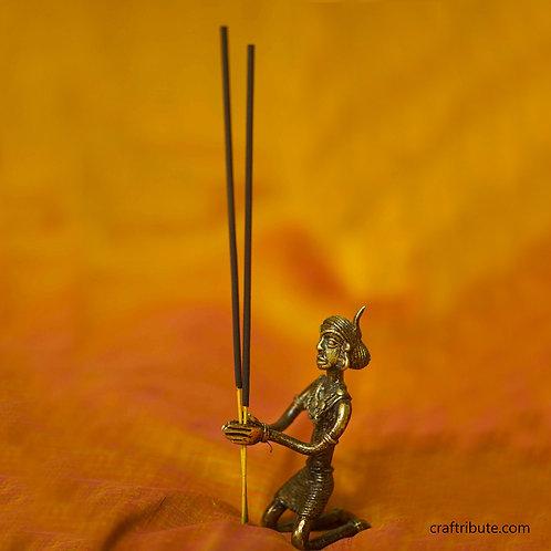Dhokra Incense Holder