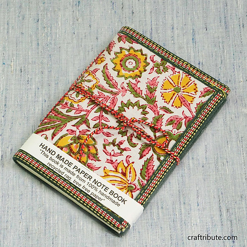 Delicate Pink & Green Floral Design