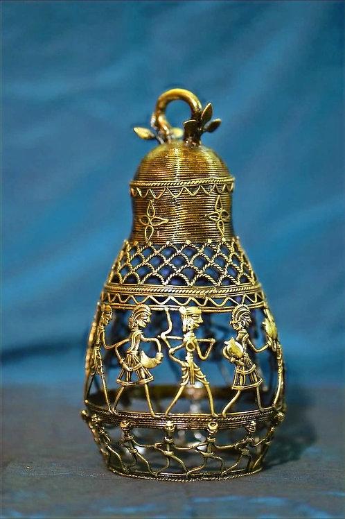 Dhokra Brass Lamp - Kamandal