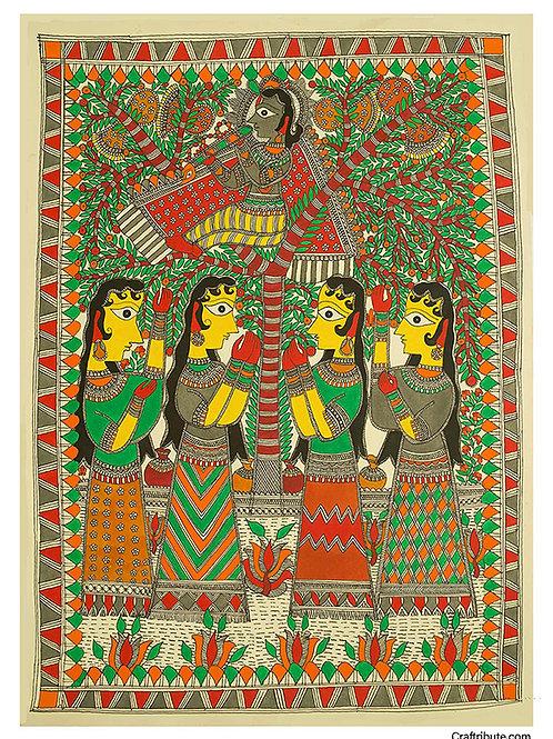 Madhubani - Gopi Krishna