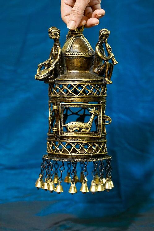 Dhokra Brass Lamp - Lantern