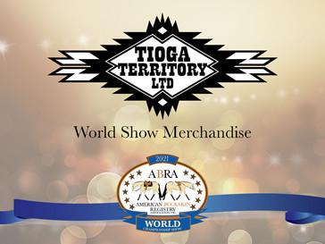 World Show Merchandise: Tioga Territory