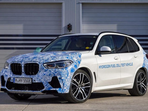 BMW X5 Hydrogen Fuel Cell Vehicle Tested On Public Roads