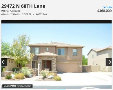 Fantasitc Peoria Home has Sold & Closed