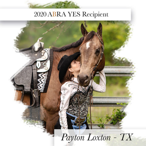 ABRA 2020 YES Winner-Payton Loxton