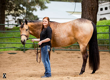 Kenzie M Equine Shoot