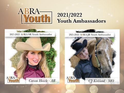 2021-2022 ABRA Youth Ambassadors