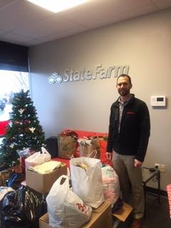 Thank you Ryan Raines with State Farm for your generous donations!