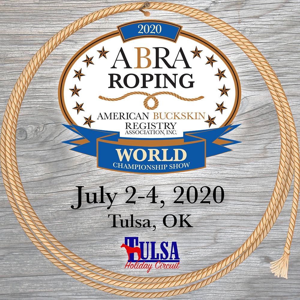 2020 ABRA Roping World Show