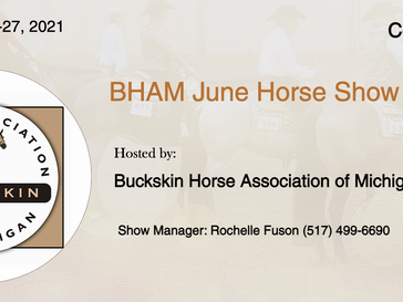 🍀Good Luck🍀 Exhibitors Attending July 26-27 Horse Show in Corunna, MI