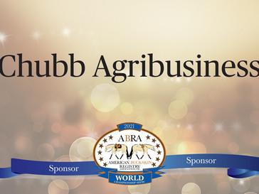 Thank You World Show Sponsor - Chubb Agribusiness!