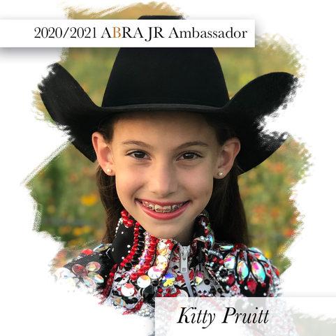Kitty Pruitt-2020-2021ABRA JR Ambassador