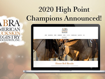 2020 High Point Champions Announced!