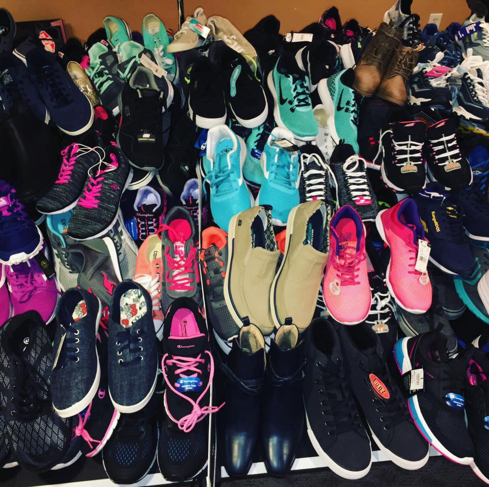Larges supply for shoes for teens & kids