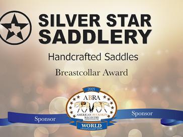 Thank You World Show Sponsor: Silver Star Saddlery!