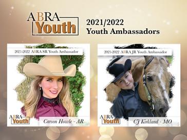 2021-2022 JR/SR Ambassadors