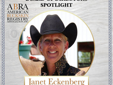 BOD Spotlight - Janet Eckenberg!