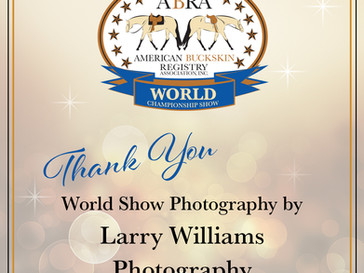 Larry Williams Photography at the 2020 ABRA World Show