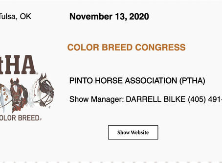 Approved ABRA Show November 13, 2020 in Tulsa, OK! 🚩