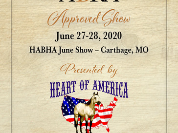 June 27 Approved ABRA Show in Carthage, MO