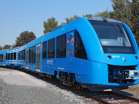 Hydrogen-Powered Trains Arrive