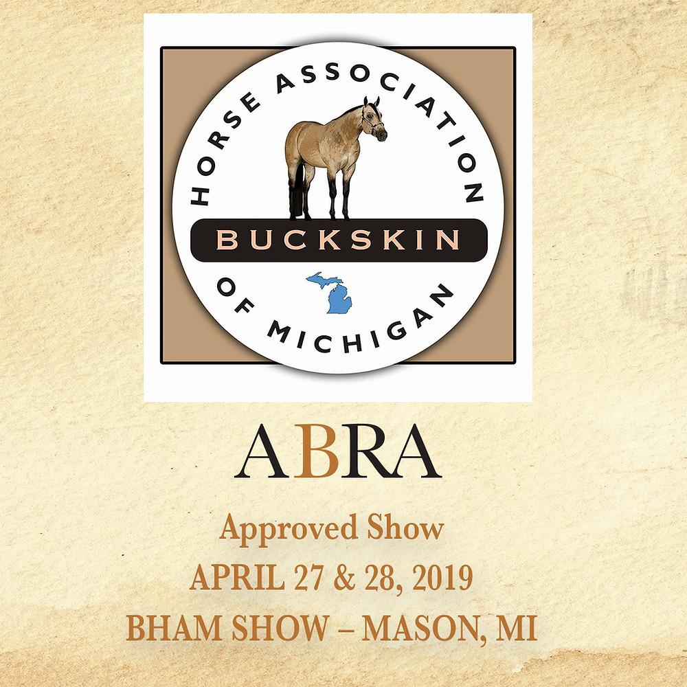 Buckskin Horse Association of Michigan logo