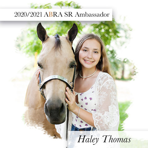 Hale Thomas-ABRA 2020-2021 SR Ambassador