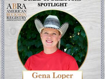 BOD Spotlight - Gena Loper (Vice President)