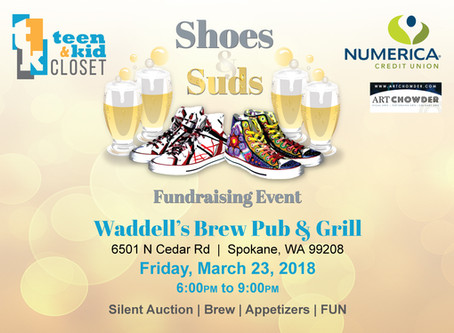 Shoes & Suds Fundraising Event: Come Join the Fun and Support a Great Cause!