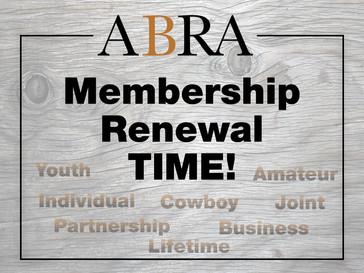 2020 Membership Renewal Time!