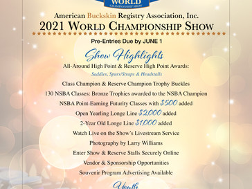 🏆 2021 ABRA World Show 🏆